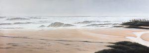 CLOUDY AT THE BEACH