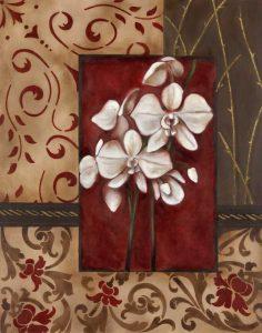 Stylized Orchid II