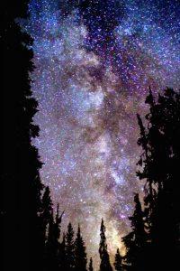 Night at Crater Lake