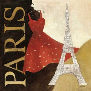 Paris Dress – A Day in the City