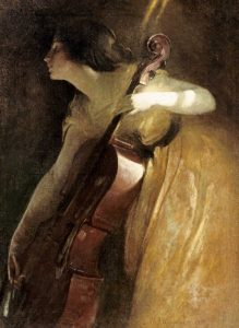 A Ray of Sunlight – The Cellist