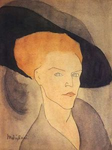 Head Of A Woman Wearing Hat