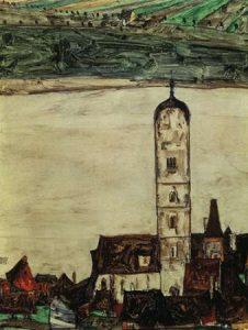 Stein On The Danube From The Kreuzberg 1913
