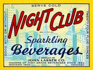 Night Club Sparkling Beverage