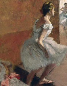 Danseuses Montant Un Escalier – center