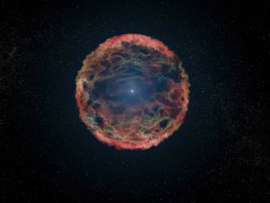 Artists Impression of Supernova 1993J