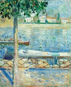 The Seine at Saint-Cloud, 1890