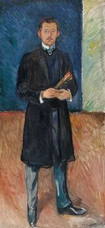 Self-Portrait with Brushes, 1904