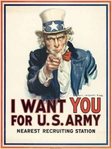 I want you for U.S. Army, c. 1917