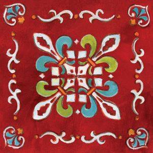 Red Bandana Mosaic