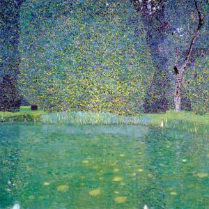 Pond At Schloss Kammer On The Attersee 1910