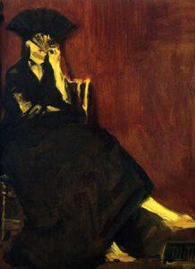 Berthe Morisot with Fan