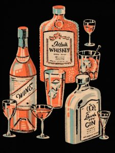 Whiskey, Wine and Gin