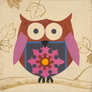 Brown Boho Owl