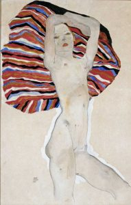 Nude with Colored Fabric, 1911