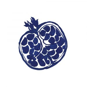 Indigo Pomegranate