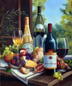 Still Life with Wines