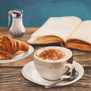 Cappuccino and Book