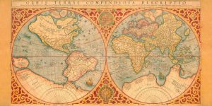 Orbis Terrae Compendiosa Descriptio 1587