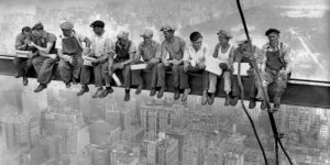 New York Construction Workers Lunching on a Crossbeam 1932