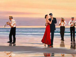 Romance on the beach – detail