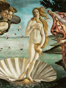 La nascita di Venere (detail)