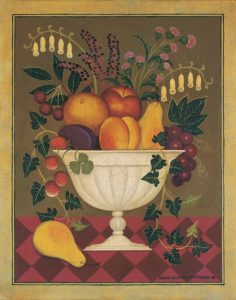 Fruit and Flowers I