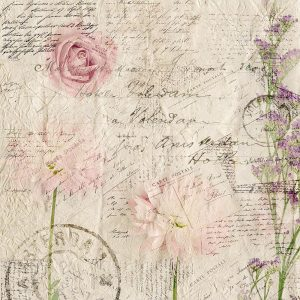 Carte Postal Florals 2