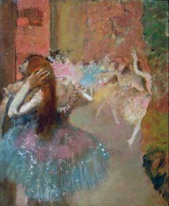 Scene De Ballet Or Balleteuses