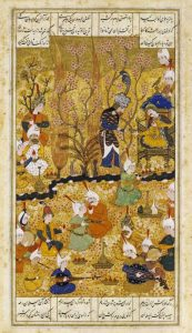 Illustration To The Shahnameh. Persia, Shiraz