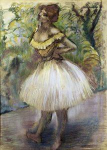 Dancer In Yellow