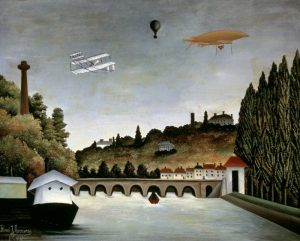 Landscape With Zeppelin