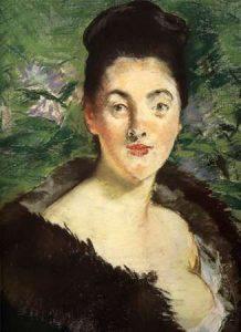 Mme Jules Guillemet in Furs