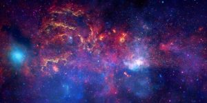 NASAs Great Observatories Examine the Galactic Center Region
