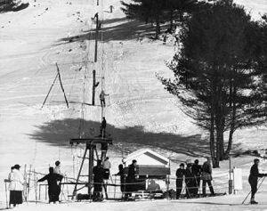 Ski Tow – Hanover, New Hampshire, 1936