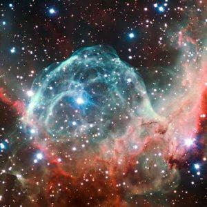 Thors Helmet Nebula