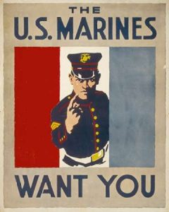 The U.S. Marines Want You, 1914/1918