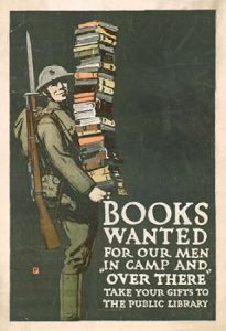 Books Wanted for our Men in Camp and Over There, 1918/1923