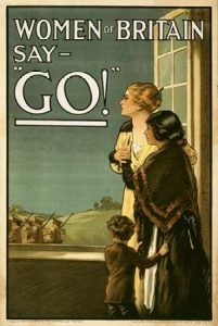 "Women of Britain say – ""Go!"""