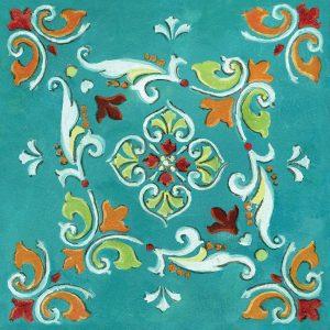 Blue Banadana Mosaic