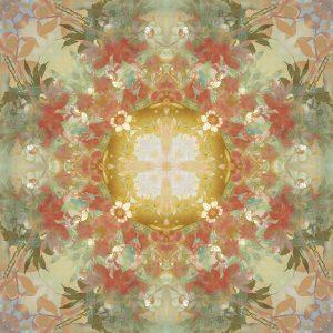Kaleidoscope Floral Gold