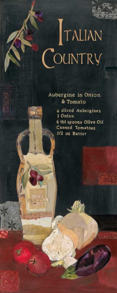 Aubergine in Onion and Tomato