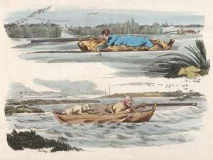 Fowling Working Up To A Wake And Panting, 1817