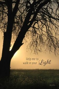 Help Me to Walk in Your Light