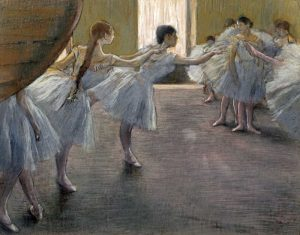 Dancers at the Rehearsal