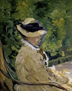 Madame Manet at Bellevue
