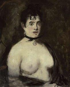 La brune aux seins nus, 1872