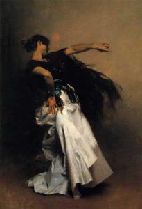 Spanish Dancer 1880-81