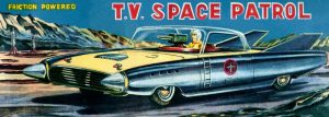 T.V. Space Patrol Car