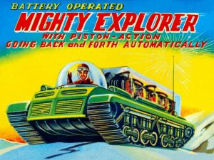 Mighty Explorer with Piston Action
